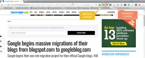 Digital Clipping Buttons Usually Install as a Browser Extension/Add-in